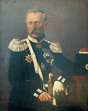 Ivan Krasnov - Ivan Krasnov, portrait from Alferaki Palace