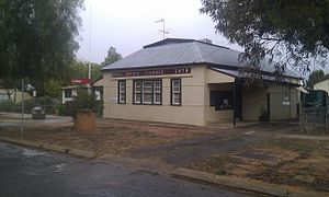 Ivanhoe, New South Wales - Post Office at Ivanhoe (2011)