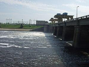 Ivankovo Reservoir - Ivankovo hydro power plant
