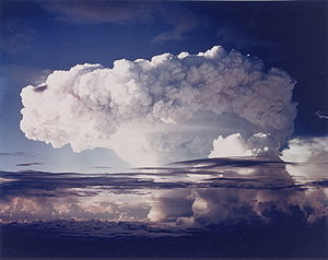 Partial Nuclear Test Ban Treaty - The Ivy Mike test of 1952, an early thermonuclear detonation