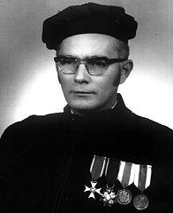 Józef Kaja w 1972 roku.