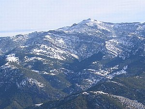 Prebaetic System - 1,956 m high Aguilón del Loco, one of the highest peaks in Sierra de Cazorla