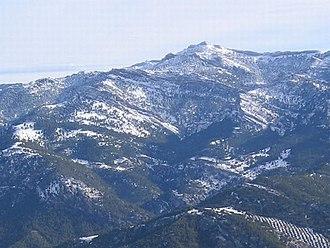 Prebaetic System - 1,956 m high Aguilón del Loco, one of the highest peaks in Sierra de Cazorla