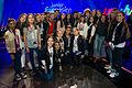 JESC 2016 contestants with Marie Louise Coleiro Preca.jpg
