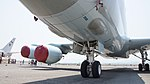 JMSDF P-1(5504) fuselage section left front low-angle view at Kanoya Air Base April 30, 2017.jpg