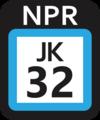 JR JK-32 station number.png