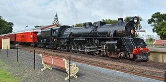 NZR JA class - JA 1250 Diana at Glenbrook Station