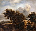 Jacob Isaacksz. van Ruisdael - The Thicket (Path in the Haarlem Dunes) - WGA20475.jpg