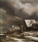 Jacob van Ruisdael - A Village in Winter.jpg