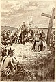 Jacques Cartier setting up a cross at Gaspé (2).jpg