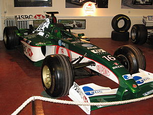 Jaguar R3 - The Donington Collection's Eddie Irvine R3 from 2002