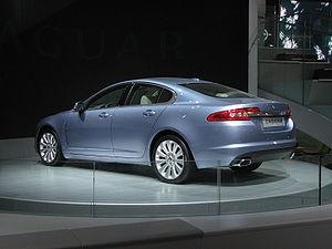 Jaguar XF at NAIAS 08