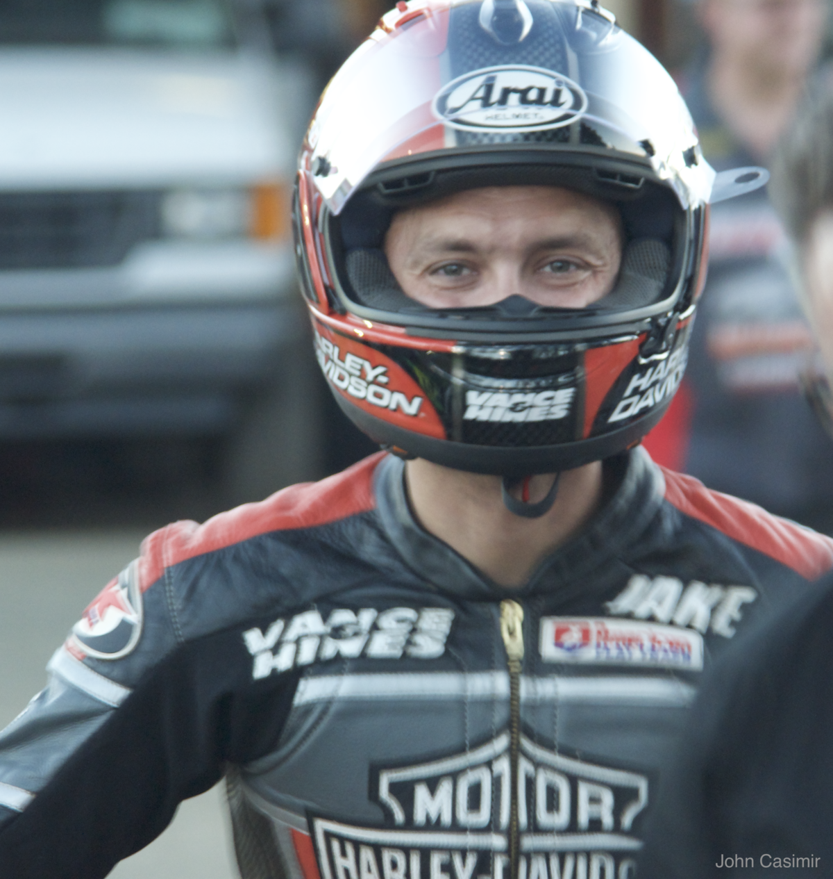 Jake Johnson  Motorcyclist