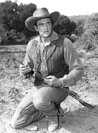 James Arness - As Gunsmokes Matt Dillon in 1956