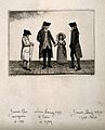 James Rae, James Hay, William Laing, and his niece, Miss Lai Wellcome V0006714.jpg