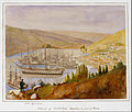 James Robertson - Interior of Balaclava Harbour and Part of Town - Google Art Project.jpg
