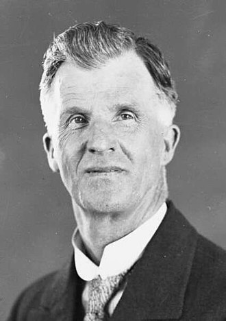 James Scullin - Scullin as Opposition leader in October 1928.
