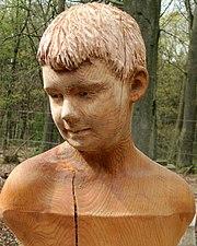 Jamie (carving by Harry Leurink)