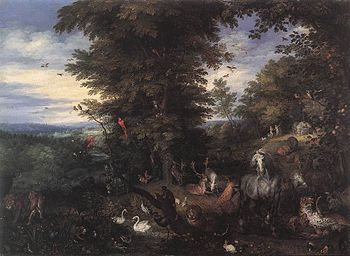 Jan Brueghel (I) - Adam and Eve in the Garden ...