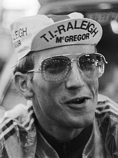 Jan Raas professional cyclist