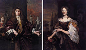 Jan de Baen -  Portrait of Gisbert Cuper and Aleida van Suchtelen