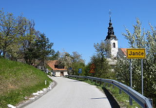 Janče Place in Lower Carniola, Slovenia