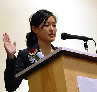 Jane Kim - Kim joining the San Francisco Board of Education. She became the first Korean American elected official in the city's history.