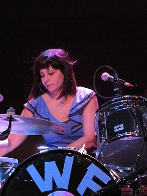 Janet Weiss - Janet Weiss of Wild Flag