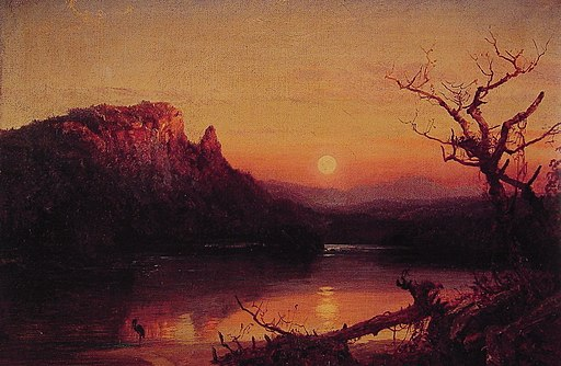Jasper Francis Cropsey Sunset Eagle Cliff
