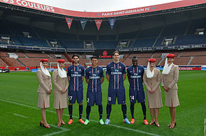 Le Classique - PSG's star lineup in the 2010s.