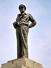 General Douglas MacArthur bronze statue