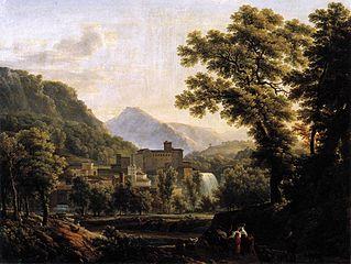 Vue de l'île de Sora dans le royaume de Naples
