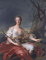 Jean-Marc Nattier - Madame Bouret as Diana - WGA16450.jpg