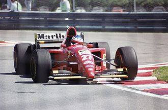 Jean Alesi - Jean Alesi took his only Grand Prix win at the 1995 Canadian Grand Prix in Montreal.
