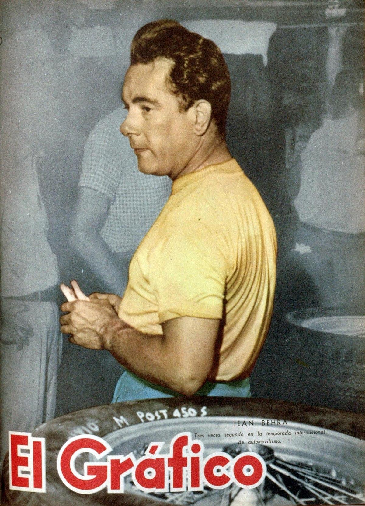 Prix D Une Ferrari >> Jean Behra — Wikipédia