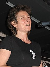Winterson in Warsaw, Poland, 2005