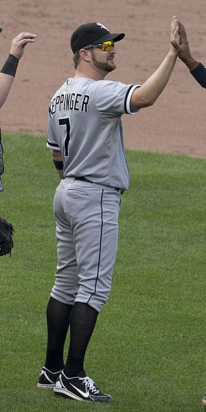Jeff Keppinger - Keppinger with the Chicago White Sox
