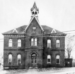 John Canon - Stone College Building, constructed by Canon