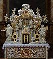 Jelenia Góra Kościół Świętych Erazma i Pankracego Tabernakulum ołtarza głównego.JPG