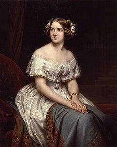 Jenny Lind, Porträt von Eduard Magnus (1861, nach einer Vorlage von 1846) (Quelle: Wikimedia)