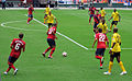 Jermaine Jones with the ball, USA vs Jamaica.jpg
