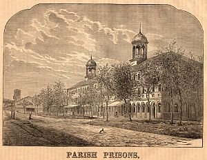 The old Parish Prison on Treme Street, New Orleans