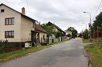 Jihlava, Staré Hory, Hybrálecká street.jpg