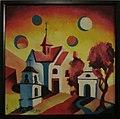 Jiri Meitner-Krajina se ctyrmi slunci, olej, platno, 50x49,5, 2010.jpg