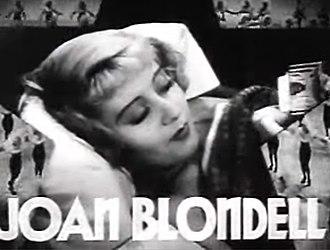 Dames - Image: Joan Blondell in Dames trailer