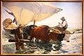 Joaquin sorolla y bastida, ritorno dalla pesca, trascinamento della barca, 1894, 01.JPG