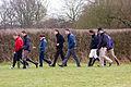 Jockeys inspecting at Plumpton Race (4370738898).jpg