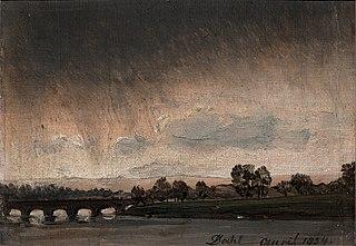 Elbe with Bridge