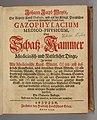 Johann Jacob Woyt 1732 Gazophylacium medico-physicum title.jpg