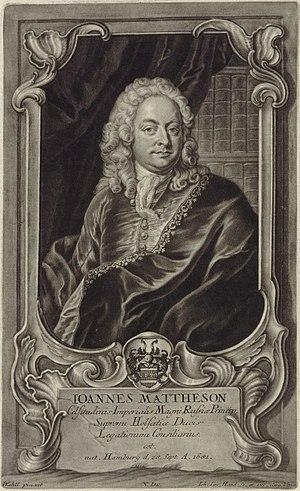 Mattheson, Johann (1681-1764)